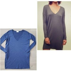 Aritzia Wilfred Free Gail dress blue size XXS